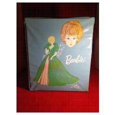 Blue Vinyl Barbie Doll Case