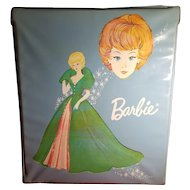 Blue Vinyl Barbie Doll Case