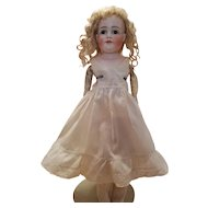 Antique Doll Slip in Eggshell Cotton