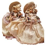 Pair of Vintage Duchess Dolls all Original