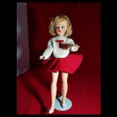 Tammy with Light Blond Hair in Cheerleader Fashion
