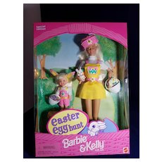 Easter Egg Hunt Barbie and Kelly