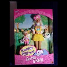 Easter Egg Hunt Barbie and Kelly