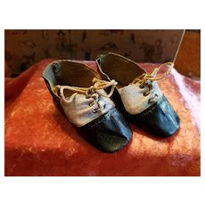 Antique Leatherette Doll Shoes