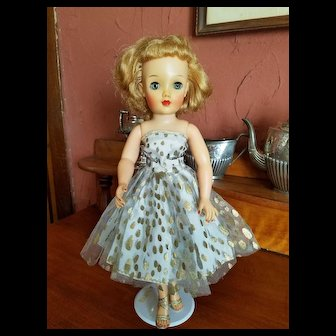 Vintage Net Evening Dress for 50's Fashion Doll