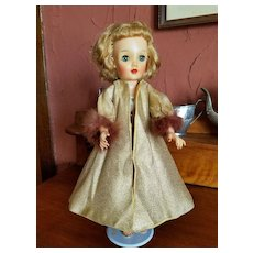 Vintage Gold Lame Dress Coat