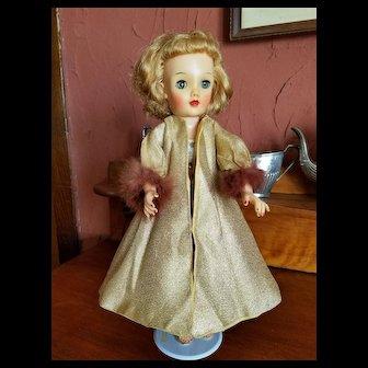 Vintage Gold Lame Dress Coat