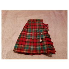 Tammy Pak Fashion Plaid Skirt