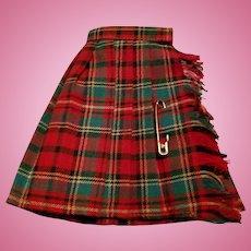 Tammy Pak Fashion Plaid Skirt