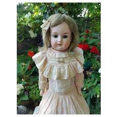 Antique Bisque Florodora in Antique Dress