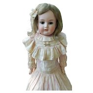 Antique Bisque Florodora in Antique Dress