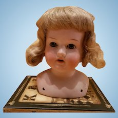 Antique Bisque Armand Marseille Doll Head