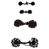 Antique Braided Closures for Sewing