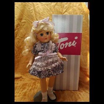 Hard Plastic Toni Doll with Box Reissue