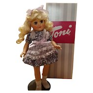 Hard Plastic Toni Doll with Box Reissue
