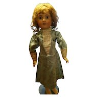 Vintage Brocade Doll Dress