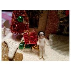 Miniature Antique Frozen Charlotte