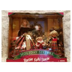 "Vintage Barbie ""Holiday Sisters""  Gift Set"