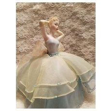 Bisque Pincushion Doll Cinderella by Marie Osmond