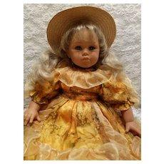 Italian Zanini and Zambelli Child Doll All Original