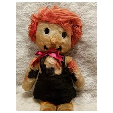 Vintage Plush  Raggedy Andy  Made in England