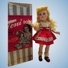 Hard Plastic Toni All Original With Box
