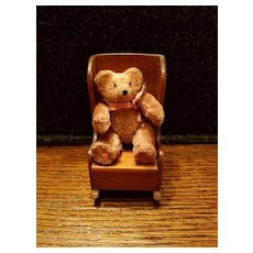 Miniature Coco Brown Jointed Bear