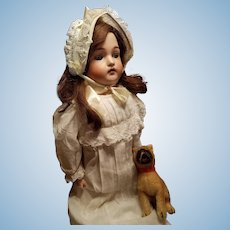 Huge Antique Bisque Kammer and Reinhardt Child Doll