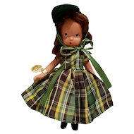 Nancy Ann Storybook Doll  One Two Button My Shoe