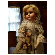 Antique  Bisque  Special Doll by Adolf Wislizenus