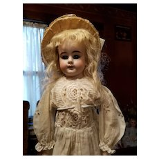 Antique Bisque Peter Scherf Doll in Antique Dress