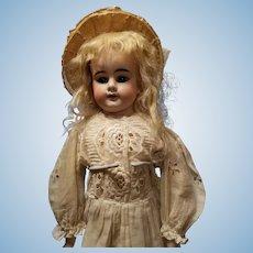 Antique Bisque Peter Scherf Doll in Antique Dress