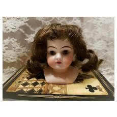 Miniature Antique Bisque Kestner Doll Head