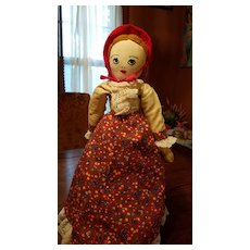 Vintage Cloth Doll  from 1930's