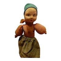 Norah Wellings Cloth Doll All Original