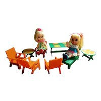 Liddle Kiddle Snap Happy Patio Set