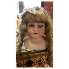 Antique Bisque Armand Marseille  370 Doll Head