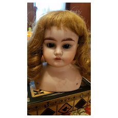 Antique Bisque Early Handwerck Doll Head