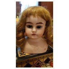 Antique Bisque Ernst Heubach Doll Head