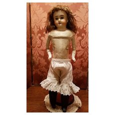 Antique Cotton Eyelet Doll Pantaloons