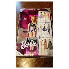 35th Anniversary Barbie Blonde
