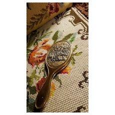 Antique Brass Hand Mirror for Doll