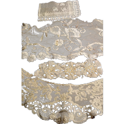 Antique Lace Pieces and Collar