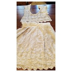Antique Dress in Two Parts for Material