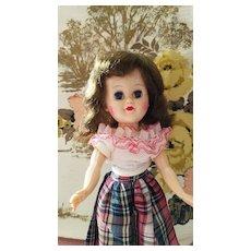 Hard Plastic Fashion Doll Original Clothes