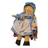Vintage Homemade Cloth Doll