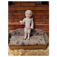 Antique Bisque Penny Bisque Doll