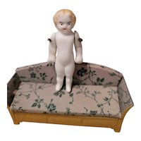 Antique  Penny Bisque Doll