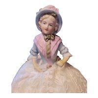 Antique Gebruder Heubach Pin Cushion Doll