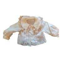 Antique Silk Rayon Doll Blouse